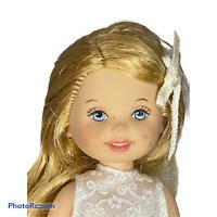 🍊 1995 KELLY DOLL BRIDE FLOWER GIRL FROM DAVID'S BRIDAL BARBIE MATTEL SET M1