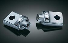 Kuryakyn - 8883 - Non-Pivoting Splined H-D Style Male Mount Adapters