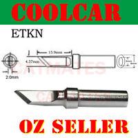 Solder Soldering Station Iron Tip ETKN for Weller PES51 WES51 WESD51 Knife tip