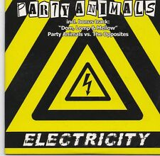 Party Animals-Electricity cd single