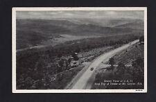 Mount Mt Gayler Arkansas Ar, c1930s Us 71 Highway, Thru Valley, Billboard, Car