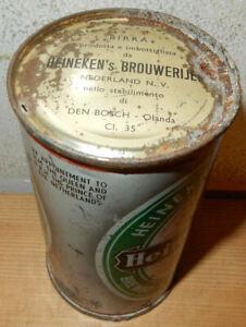 Heineken Beer Flat Top can from HOLLAND (34cl) Nice Lid !!   Empty !!