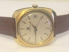 Authentic Genuine Vintage Tissot Date Hand-wind working mens Swiss watch Bargain