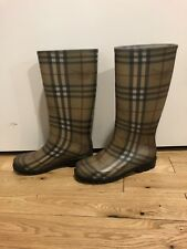 Womens Authentic Burberry Rainboots