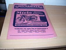 Oldtimer Fahrrad  Radmarkt Miele Motor Fahrrad Mechaniker 20. März 1951