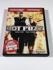 Hot Fuzz (DVD, 2007, Full Frame)