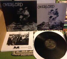 Overlord-Broken Toys (Berline 300 * BLACK VINYL * US HARD ROCK * ALICE COOPER * KISS)