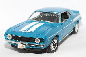 1:18 Chevrolet Camaro Yenko (1969) Fast & Furious | blau | ERTL | Modellauto PKW