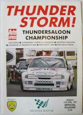 BRANDS HATCH 12 Apr 1993 Thundersaloon Championship A4 Official Programme
