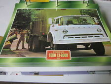 Super trucks multiusos camiones Inglaterra ford CT 800, 1974