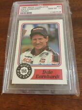 1988 MAXX CHARLOTTE DALE EARNHARDT PROMO ROOKIE RC PSA 10 GEM MINT NASCAR GOAT!