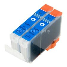 2 CANON Patronen mit Chip cli8 cyan IP3300 IP3500 IP4200 IP4500 IP5200R MP510