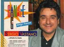 SP82 Clipping-Ritaglio 1992 Intervista Sergio Vastano...striscia la risata