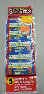 1991 Diamond  WWF Wrestling Stickers Factory Sealed with 5 Packs 30 Stickers #4