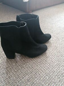Womens ankle boots size 7 Widefit