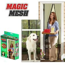 Mosquito Door Net Mesh Screen Door Hands-Free with 22 Magnets Magic Mesh NoBox