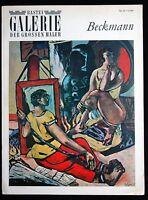 3 Bücher Cezanne Munch Beckmann Galerie der großen Maler 1968
