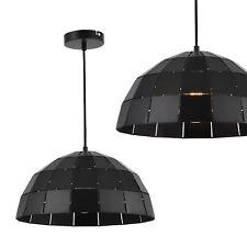 [lux.pro] Lampadario a sospensione metallo nero lampada luce lampadario pendolo