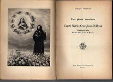 santa maria crocifissa di rosa,una gloria bresciana - giorgio papasogli-box1sext