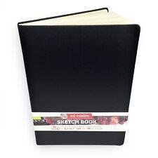 Royal Talens – Art Creation Hardback Sketchbook – 80 Sheets – 21 x 29.7cm –Black