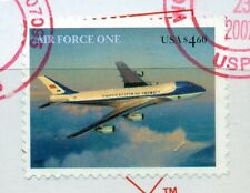 SCOTT # 4144 $4.60 AIR FORCE ONE ON PIECE, USED, GREAT PRICE