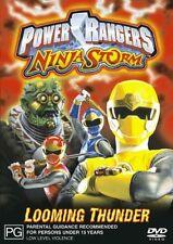 Power Rangers - Ninja Storm - Looming Thunder (DVD, 2004)
