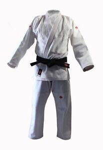 KANKU NEW White Jiu jitsu Gi uniform 550 gram Gold Weave Bjj gi Kimono Youth Kid