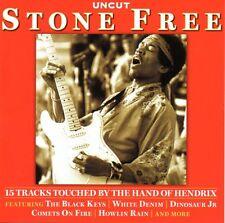 UNCUT - STONE FREE (HAND OF HENDRIX) CD white denim black keys dinosaur jr