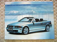 BMW OFFICIAL 3 5 7 Z3 M M5 Z8 SERIES FULL LINE BROCHURE 2000 USA EDITION