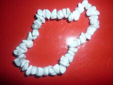 cristalloterapia BRACCIALE braccialetto HOWLITE cristallo pietra purificatore