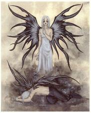 Amy Brown Broken Angel boy girl Fairy Faery Print new sad depressed broken up