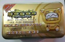 Gogo's Crazy Bones 28 piece lot plus Part 1 Gold Series Tin