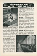 1957 Keeping Up With the Atom Nuclear Research Radiation Energy Future