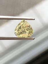 1.23 Cts. FANCY YELLOW PEAR SHAPED DIAMOND. ONLY A NATURAL EARTH MINED DIAMOND.