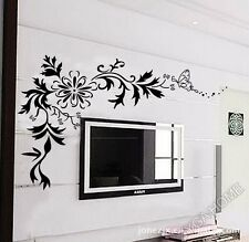 Floral design wall stickers,wall decals 7032