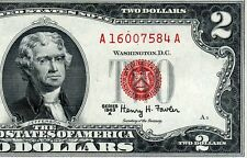 1963-A $2 US Note *** Red Seal *** # A16007584A
