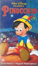 Pinocchio (Walt Disney UK Released VHS) New & Sealed