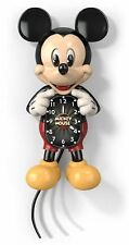 ANIMATED DISNEY MICKEY MOUSE CLOCK COLLECTIBLE QUARTZ MOVEMENT # CERTIFICATE
