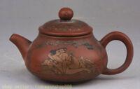 """4.4 """"vieux yixing zisha pottery homme femme faire l'amour avec théière bouilloir"""