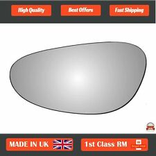 Right hand Driver side for Porsche 911 05-12 wing mirror glass Wide Angle