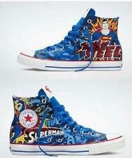 Converse SUPERMAN MAN OF STEEL Hi-Top Shoes 2 Laces Wild Lining M-9 / W-11 NIB