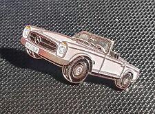 MERCEDES Benz pin pagode SL w113 prima d'argento... verniciato-Dimensioni 39x17mm