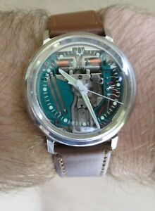 Vintage Accutron Spaceview 1967 Stainless Steel Case Ref 2446 - Serviced