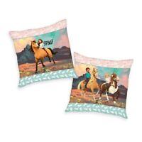 Spirit Kissen Kuschelkissen Dekokissen Pferde 40 x 40 cm