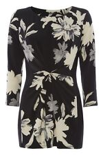 Crew Neck Polyester Fitted Tunic, Kaftan Women's Tops & Shirts