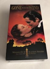 NEW VHS Gone With The Wind Set 1998 Clark Gable Classic Civil War Story SEALED
