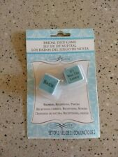 New Bridal Dice Game Shower Break The Ice Reception Party Bride Groom