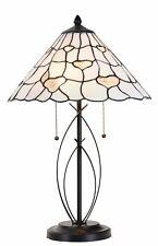 Lampada da tavolo Tiffany 100% AUTENTICO VETRO COLORATO