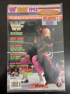 WWF Magazine SEALED August 1993!! Bret Hart Cover Titan Sports Hulk Hogan