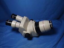 OLYMPUS SZ4045 SZ40 Stereo Zoom Microscope Head With GSWH10X/22 Eyepieces